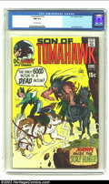 Bronze Age (1970-1979):Western, Tomahawk #133 (DC, 1971) CGC NM 9.4 Off-white pages. Joe Kubert cover. Overstreet 2002 NM 9.4 value = $16. ...