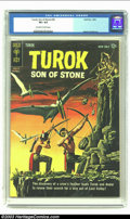 Silver Age (1956-1969):Adventure, Turok #30 (Gold Key, 1962) CGC VF+ 8.5 Off-white to white pages. Alberto Gioletti art. Only copy of issue graded by CGC to d...