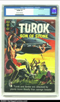 Silver Age (1956-1969):Adventure, Turok #45 (Gold Key, 1965) CGC VF/NM 9.0 Off-white to white pages. Alberto Gioletti. Only copy of issue to be graded by CGC ...
