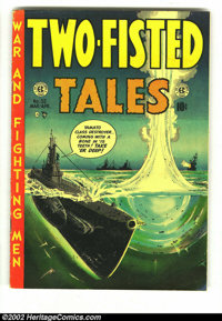 Two-Fisted Tales #32 (EC, 1953) Condition: VG+. Overstreet 2002 GD 2.0 value = $17; FN 6.0 value = $51. From the collect...