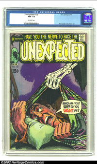 Unexpected #123 (DC, 1971) CGC NM- 9.2 Off-white pages. Nick Cardy cover and George Tuska art. Overstreet 2002 NM 9.4 va...