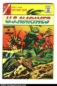 U.S. Marines #1 File Copy (Charlton, 1964) Condition: FN+. One-shot. First appearance of Captain Dude. Overstreet 2002 F...