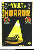Golden Age (1938-1955):Horror, Vault of Horror #16 (EC, 1950) Condition: GD+. Craig cover. Ingels,Kamen, and Feldstein art. Overstreet 2002 GD 2.0 value =...