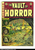 Golden Age (1938-1955):Horror, Vault of Horror #27 (EC, 1952) Condition: VG+. Classic EC horrorwith a fantastic Johnny Craig cover. Overstreet 2002 GD 2.0...