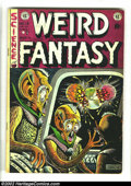 Golden Age (1938-1955):Science Fiction, Weird Fantasy #16 (EC, 1952) Condition: FN. Autographed by AlFeldstein. Overstreet 2002 FN 6.0 value = $87. ...