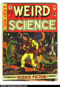 Golden Age (1938-1955):Science Fiction, Weird Science #10 (EC, 1951) Condition: VG. Wood cover. Wood,Kamen, and Orlando art. Overstreet 2002 GD 2.0 value = $45; FN...