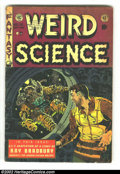 Golden Age (1938-1955):Horror, Weird Science Group (EC, 1952) Average Condition: GD. Weird Science#19 (GD/VG) and #20 (GD-). Wood covers. Williamson/F...