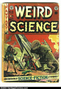 Golden Age (1938-1955):Horror, Weird Science Low Grade Group (EC, 1952) Average Condition FR/GD.Group consists of issues #15 (FR), #16 (GD), and #18 (GD-)...