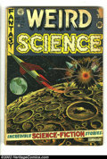 Golden Age (1938-1955):Horror, Weird Science/Weird Fantasy Group (EC, 1952) . Two issues of eachtitle, Weird Science #11 (GD) and #22 (PR/complete), a...
