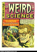 Golden Age (1938-1955):Horror, Weird Science lot (EC, 1952). #12 (#1) Apparent GD, #13 (#2) GD/VGand #6 GD+. Overstreet 2002 value for group = $200.... (Total: 3Comic Books Item)