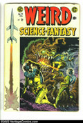 Golden Age (1938-1955):Science Fiction, Weird Science-Fantasy #27 (EC, 1955) Condition: VG-. Wood cover.Crandall, Kamen, Orlando, and Wood art. Overstreet 2002 GD ...