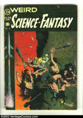 Golden Age (1938-1955):Science Fiction, Weird Science-Fantasy #29 (EC, 1955) Condition: GD. Frank Frazettacover. Williamson/Krenkel, Crandall, Wood, and Orlando ar...