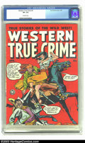 Golden Age (1938-1955):Western, Western True Crime #5 (Fox, 1949) CGC VF+ 8.5 Off-white pages. Only copy of issue #5 graded by CGC to date. Overstreet 2002 ...
