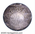 1652 SHILNG Oak Tree Shilling VF30 PCGS. Noe-5, Crosby 2-D, R.2. 69.4 grains. Generally with pearl-gray patina, although...
