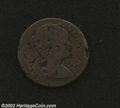 Colonials: , 1786 COPPER Vermont Copper, Baby Head VG8 Corroded ...