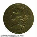 1793 1/2 C --Scratched, Rim Filed--ANACS. VF Details, Net Fine 12. B-1, C-1, High R.3. As our nation's premier Half Cent...