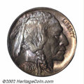 Buffalo Nickels: , 1920-D 5C MS65 PCGS. An elusive coin in all but the ...