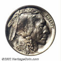 Proof Buffalo Nickels: , 1936 5C Type One--Satin Finish PR67 PCGS. One of two ...