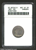 Early Dimes: , 1801 10C --Scratched--ANACS. XF Details, Net VF20. JR-1, R....