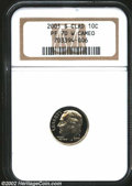 Proof Roosevelt Dimes: , 2001-S 10C Clad PR70 W Cameo NGC. Monumentally impressed ...