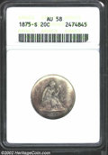 Washington Quarters: , 1949 25C MS68 NGC. Richly and deeply toned on each side ...