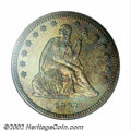 Proof Seated Quarters, 1862 25C PR66 NGC. Ex: P. Kaufman. Seated Quarter ...