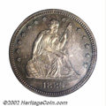 Proof Seated Quarters: , 1880 25C PR66 PCGS. Only 1,355 proofs were produced out ...