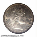 Barber Quarters: , 1896-O 25C MS65 NGC. While collectors immediately ...
