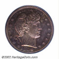 Proof Barber Quarters: , 1904 25C PR66 PCGS. The fields are deeply reflective and ...