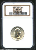 Washington Quarters: , 1950-D/S 25C MS64 NGC. FS-21, Breen-4354. The curve of an ...