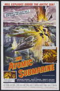 "Movie Posters:Science Fiction, The Atomic Submarine (Allied Artists, 1959). One Sheet (27"" X 41"").Science Fiction. Directed by Spencer Gordon Bennet. Star..."