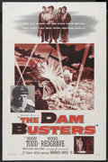 "Movie Posters:War, The Dam Busters (Warner Brothers, 1955). One Sheet (27"" X 41"").War...."