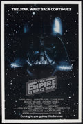 "Movie Posters:Science Fiction, The Empire Strikes Back (20th Century Fox, 1980). One Sheet (27"" X41"") Advance. Sci-Fi Adventure. Starring Mark Hamill, Har..."