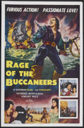 "Movie Posters:Adventure, Rage of the Buccaneers (Colorama, 1963). One Sheet (27"" X 41"").Adventure. Starring Ricardo Montalban, Vincent Price and Giu..."