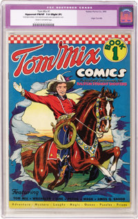 Tom Mix Comics #1 (Ralston-Purina Co., 1940) CGC Apparent FN/VF 7.0 Slight (P) Cream to off-white pages. Here's a book t...