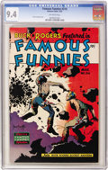 Golden Age (1938-1955):Science Fiction, Famous Funnies #216 (Eastern Color, 1955) CGC NM 9.4 Off-whitepages....
