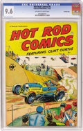 Golden Age (1938-1955):Miscellaneous, Hot Rod Comics #6 Crowley Copy pedigree (Fawcett, 1952) CGC NM+ 9.6 Off-white to white pages. Bob Powell drew this issue's c...