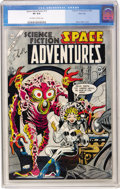 Golden Age (1938-1955):Science Fiction, Space Adventures #12 River City pedigree (Charlton, 1954) CGC VF8.0 Off-white to white pages....