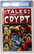 Golden Age (1938-1955):Horror, Tales From the Crypt #35 Northford pedigree (EC, 1953) CGC NM+ 9.6Off-white pages....
