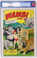 Golden Age (1938-1955):Adventure, Wambi the Jungle Boy #5 (Fiction House, 1949) CGC NM+ 9.6 Cream to off-white pages. Years before DC started putting gorillas...