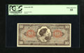 Military Payment Certificates:Series 641, Series 641 $10 PCGS Choice About New 55. This $10 is from the thirdprinting....