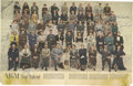 Autographs:Celebrities, Hollywood Stars: A Large Photogravure Signed by Fourteen Pictured Stars of the Early 1950s. Signed by: Frank Sinatra, Errol ...