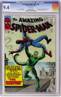 Silver Age (1956-1969):Superhero, The Amazing Spider-Man #20 (Marvel, 1965) CGC NM 9.4 White pages....