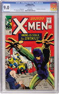 Silver Age (1956-1969):Superhero, X-Men #14 (Marvel, 1965) CGC VF/NM 9.0 White pages....