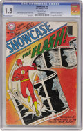 Silver Age (1956-1969):Superhero, Showcase #4 The Flash (DC, 1956) CGC FR/GD 1.5 Off-white pages....