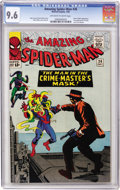 Silver Age (1956-1969):Superhero, The Amazing Spider-Man #26 (Marvel, 1965) CGC NM+ 9.6 Off-white towhite pages....