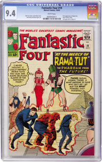 Fantastic Four #19 (Marvel, 1963) CGC NM 9.4 White pages