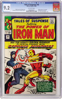 Tales of Suspense #58 (Marvel, 1964) CGC NM- 9.2 Off-white pages
