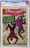 Silver Age (1956-1969):Superhero, The Amazing Spider-Man #6 (Marvel, 1963) CGC NM 9.4 Off-white towhite pages....