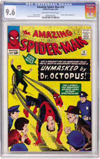 The Amazing Spider-Man #12 (Marvel, 1964) CGC NM+ 9.6 Off-white to white pages